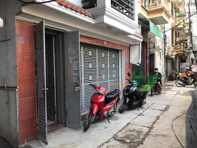 Bán nhà 4 tầng Trần Thái Tông