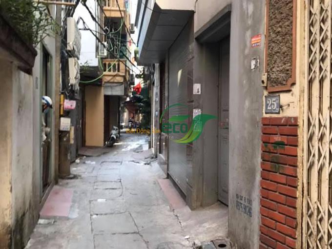 Bán nhà 4 tầng ngõ 63 Trần Quốc Vượng